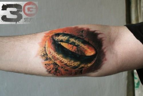 herr der ringe tattoos
