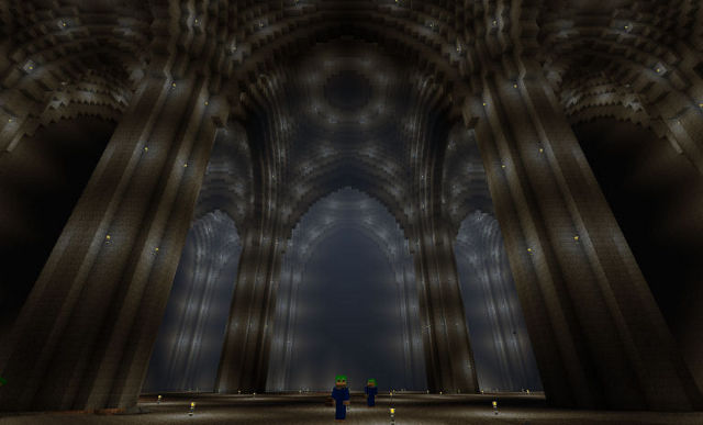 Die Minen Von Moria 1 1 In Minecraft
