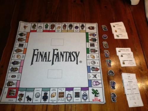 Selbstgemachtes Final Fantasy Monopoly lädt zum Spielen ein