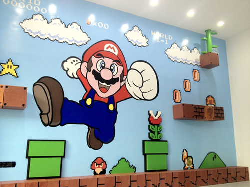 Beautiful Super Mario Wandtattoo Pictures - Erstaunliche Ideen ...