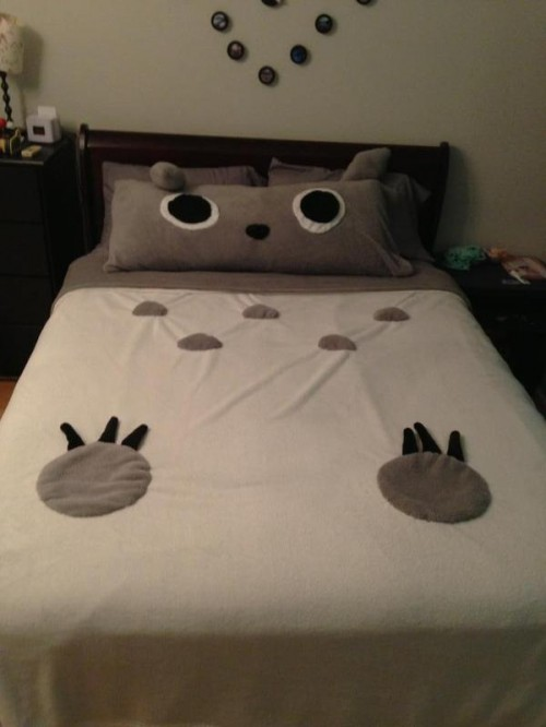 totoro-bed