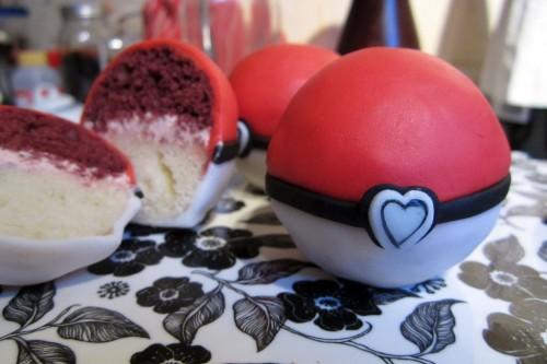 Diy Pokeball Kuchen Liebe Geht Durch Den Magen