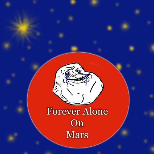 mars-alone