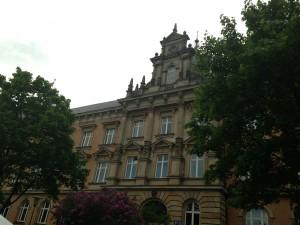 Vor Gericht in Hamburg
