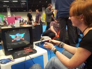 Super Sonic am Sega
